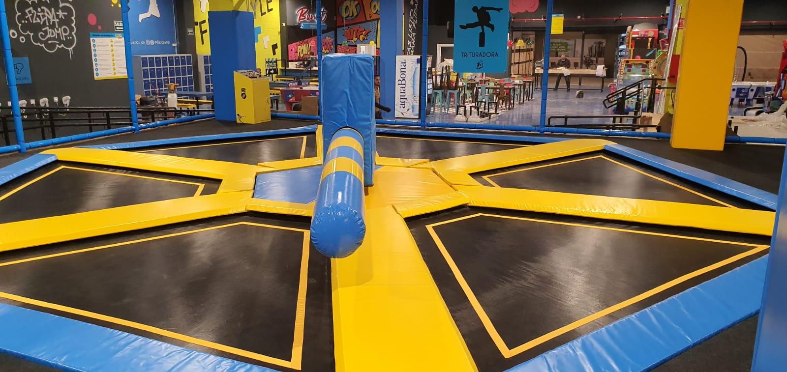 trampoline park españa