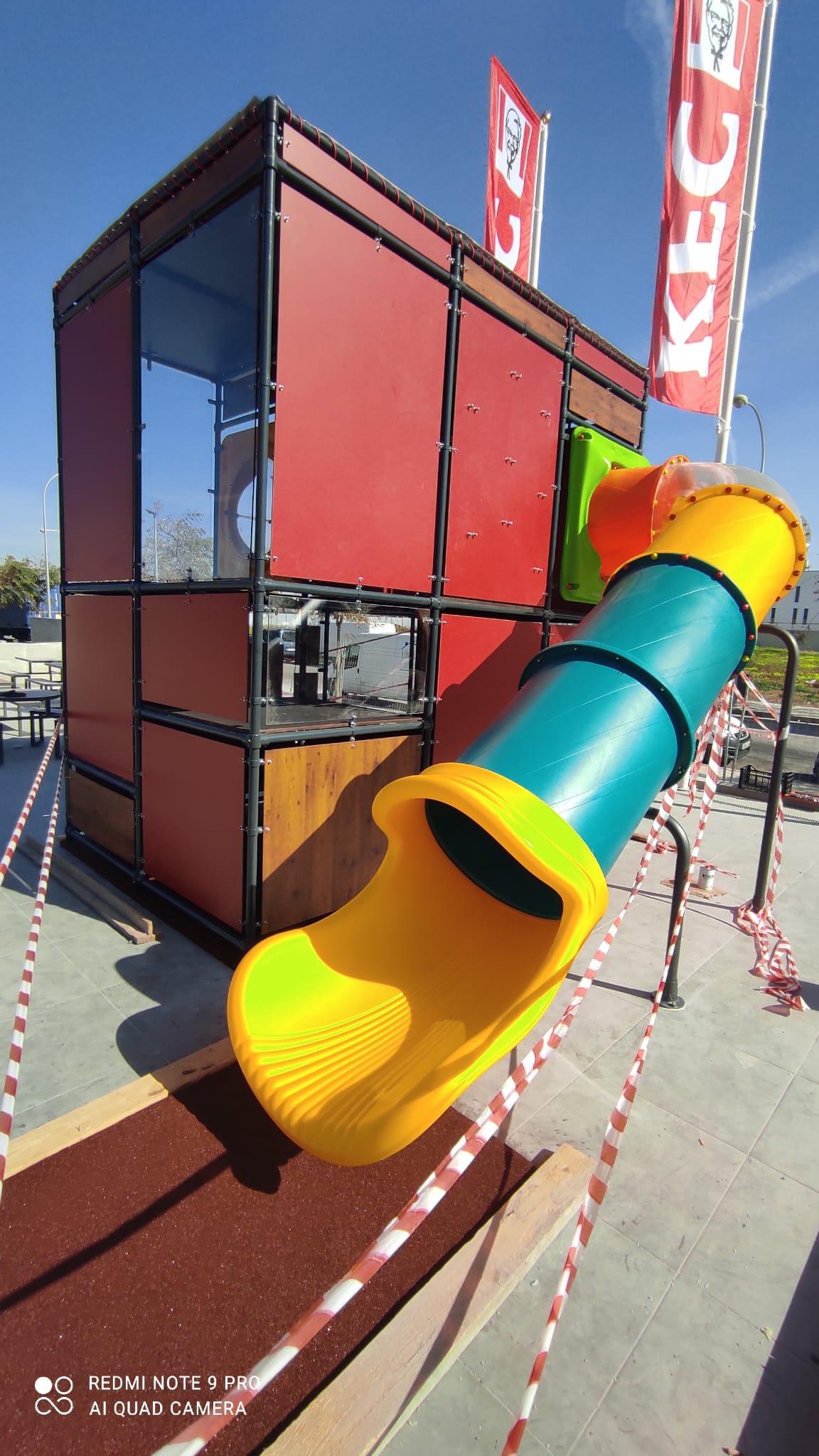 parque infantil kfc